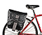 Tandem Pannier Bag - waterproof polybond black