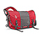 Classic Messenger Bag - ballistic nylon rev red / gunmetal / rev red