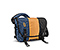 Classic Messenger Bag - ballistic nylon dusk blue / mustard yellow / black