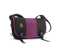 recycled pet black / ballistic nylon village violet / recycled pet black