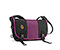 Classic Messenger Bag - recycled pet black / ballistic nylon village violet / recycled pet black