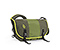 Classic Messenger Bag - weathered canvas peat green / ballistic nylon algae green / weathered canvas peat green