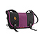 Classic Messenger Bag - ripstop black / ballistic nylon village violet / ripstop black