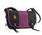 Classic Messenger Bag - recycled pet ripstop black fc / ballistic nylon village violet / recycled pet ripstop black