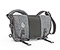 Classic Messenger Bag - textured grey texture / ballistic nylon carbon / textured grey texture