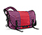 Classic Messenger Bag - ballistic nylon village violet / rev red / village violet