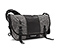 Classic Messenger Bag - canvas grey / polybond black / canvas grey