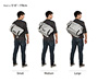 D-Lux Laptop Bondage Messenger Bag Feature