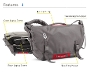 D-Lux Laptop Bondage Messenger Bag Diagram