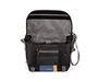 D-Lux Laptop Racing Stripe Messenger Bag Open
