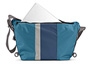 D-Lux Laptop Racing Stripe Messenger Bag Back