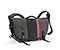 D-Lux Laptop Racing Stripe Messenger Bag - ballistic nylon carbon grey / black / carbon grey