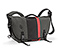 D-Lux Laptop Racing Stripe Messenger Bag - ballistic nylon carbon grey / ballistic nylon black / ballistic nylon carbon grey