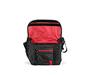 D-Lux Laptop Racing Stripe Messenger Bag Open