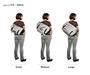 D-Lux Laptop Racing Stripe Messenger Bag Feature