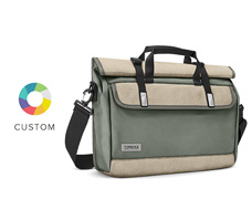 Custom Prospect Laptop Messenger Bag Front