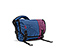 Freestyle Messenger Bag for iPad - ballistic nylon night blue / night blue / village violet