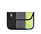Kindle Keyboard Envelope Sleeve - ballistic nylon black / gunmetal / limeaide