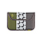 Kindle Keyboard Envelope Sleeve - ballistic nylon algae green / polybond gunmetal w/ cement hex screenprint / ballistic nylon gunmetal