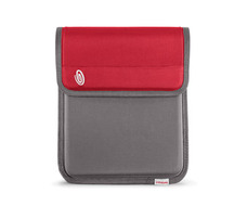 420D nylon gunmetal / revlon red