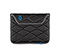 Plush Sleeve for the NEW iPad, iPad 2 - ballistic nylon black / black / black