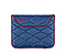 Plush Sleeve for the NEW iPad, iPad 2 - ballistic nylon night blue / village violet