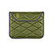 Plush Sleeve for the NEW iPad, iPad 2 - ballistic nylon algae green / gunmetal