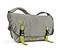 Full-Cycle Messenger Bag - aloha blue recycled ripstop gunmetal fc