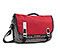 Command Laptop TSA-Friendly Messenger Bag - oxford nylon rev red