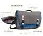 Command Laptop TSA-Friendly Messenger Bag Diagram