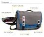 Command Laptop TSA-Friendly Messenger Bag Diagram