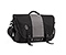 Commute Laptop TSA-Friendly Messenger Bag - ballistic nylon black / gunmetal / black