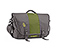 Commute Laptop TSA-Friendly Messenger Bag - ballistic nylon gunmetal / algae green / gunmetal