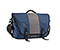 Commute Laptop TSA-Friendly Messenger Bag - ballistic nylon dusk blue / gunmetal  / dusk blue