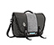 Commute Laptop TSA-Friendly Messenger Bag - ballistic nylon carbon / textured grey texture / ballistic nylon carbon
