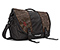 Commute Laptop TSA-Friendly Messenger Bag - canvas dark oak / polybond black / canvas dark oak