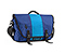 Commute Laptop TSA-Friendly Messenger Bag - ballistic nylon night blue / pacific blue / night blue