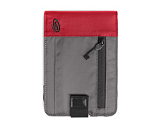 ballistic nylon gunmetal / red