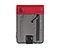New Kindle & Kindle Paperwhite Dinner Jacket - ballistic nylon gunmetal / red