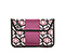 Kindle Fire Envelope Sleeve - print lola floral / 1680d ballistic mulberry purple / print lola floral
