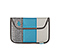 Kindle Fire Envelope Sleeve - texture grey / ballistic nylon cold blue / canvas tusk grey