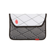 black polka dots BW Polka Dots / 630D Nylon White