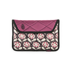 Print Lola Floral / 420D Matte Mulberry Purple