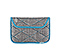 Kindle Fire Plush Sleeve - texture grey / cold blue