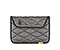 Kindle Fire Plush Sleeve - ballistic nylon gunmetal / lime-aid