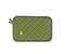 Plush Layer Laptop Sleeve - 420d matte algae green / gunmetal