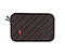 Plush Layer Laptop Sleeve - 420d matte black / bixi red