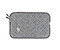 Plush Layer Laptop Sleeve - texture grey / cold blue