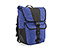 Madrone Cycling Laptop Backpack - recycled pet cobalt / nylon black chainlink reflective print / recycled pet cobalt