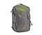 Uptown Laptop TSA-Friendly Backpack - ballistic nylon gunmetal / algae green / gunmetal